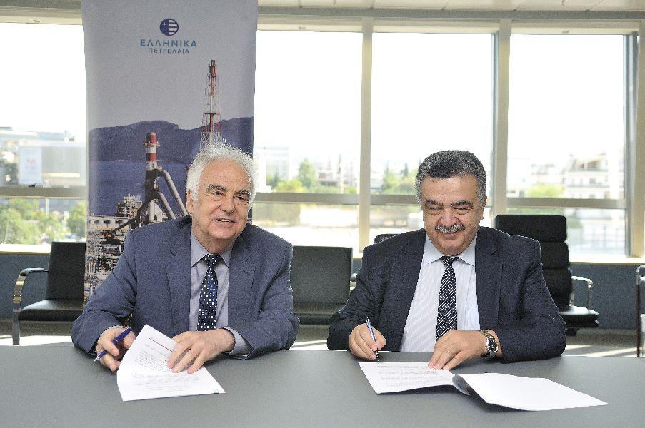 Ελληνικά Πετρέλαια και ΟΠΑ Υπέγραψαν Τριετές  Μνημόνιο Συνεργασίας